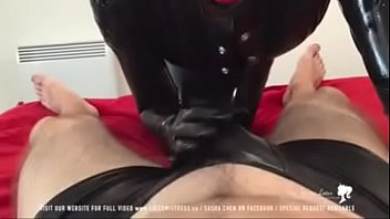bondage machine latex Anal japanese two black