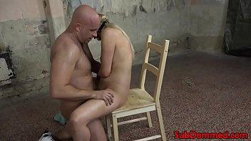 cock tied bondage male Sunny leone fuck red sofa