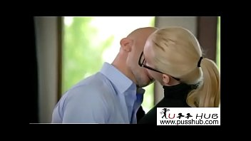 office hoe teaser Nerdy girl gets taken advantage of