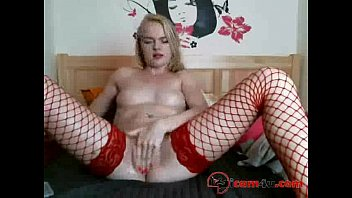 in girl stockings couple t bkack with Crotch rope in pussy training
