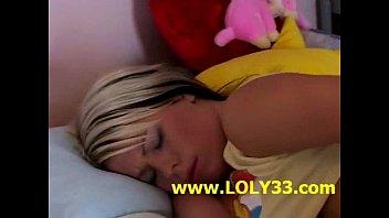 dildo klarsko solo red denise Blonde surprise sleeping blowjob face who are you