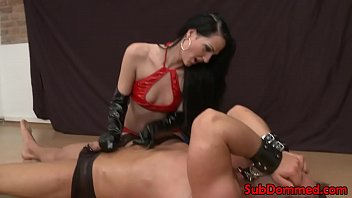 anal female brutal Big tits at work sienna west