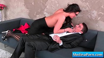 molesting boss secretary Doggystyle big dick