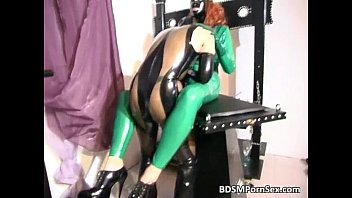 latex machine bondage Wife shared with hubbys friends big dicks creampie mmf