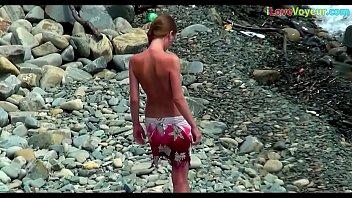 videos nude scat beach Gay hairy jac