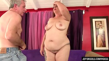 ssbbw upskirt anal bbw Busty babe gets poked by two cocks