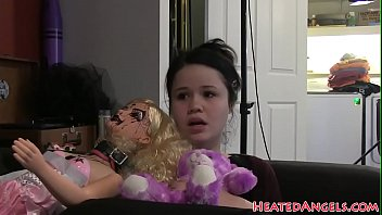 gothic dilso purple emo She fingers herself and gives handjob