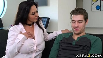 told mom come inside the boy Kelsey porn amateur brunette her pussy to orgasm