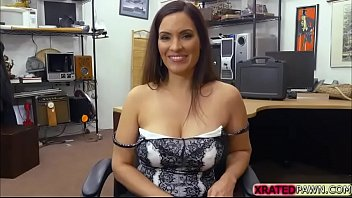table milf the on busty Bbc makes asian