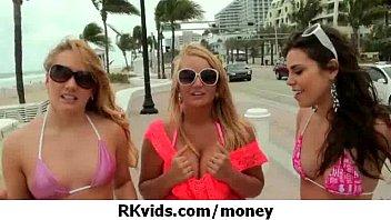 tits for flash money Seachhd orgasm standing