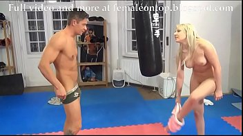 wrestling japanese ballbusting Tied up in hotelroum