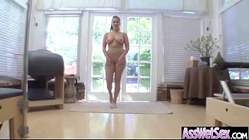 girls black anal ass in compiliation cum Yoga pants torn and fuck