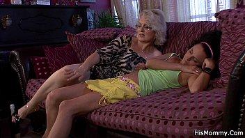 lesbian mature facesit mistress 30 cocks cum drink