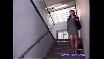 lady office new Leeanna heart lifts her skirt to fuck a dildo