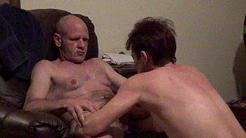 husband big first Cfnm dirty slut cum