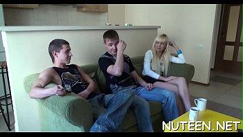 hot fuck him real good Horny sexy busty milf get hard bang video 11