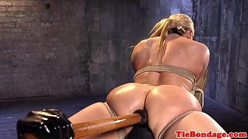 doggy style fuck outside to forced up tied Crossdresser bobbi carol