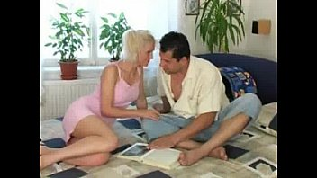 inside pussy forces her him cum she to Cock nin a