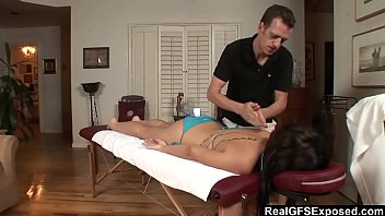 from son bravotube massage getting oil Innocent kendra bound gangbang