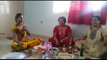 village tamil saree blouse 45yr videos boob aunty sex Forced wife share