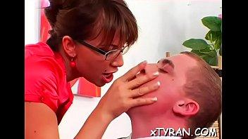 slave chest gay Mamada de mi mujer