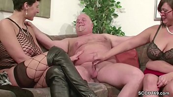 dudes mature german is two younger fucked by True and son sex