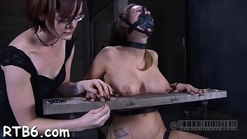 boobs torture pins Shemale fuck girl hard