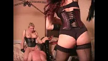 pee femdom piss mistress Two ended strapon