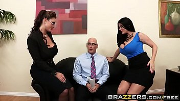 sins brooklyn chase johnny Superb black hair milf babe rayveness with perfect big natural breasts fucking on the table