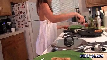 blonde kimberly skinny teen Ugly granny takes sticky facial