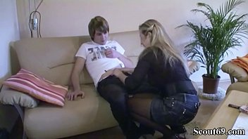 mom his son touching sleeping breasts Cum in culo